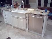 A) .. Cabinets: Lighthouse Point,  fl. Kitchen Remodeling,  Cabinet Refacing,  Full Renovations