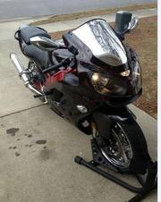 Custom 2008 Kawasaki ZZR600.3, 648 miles on it.
