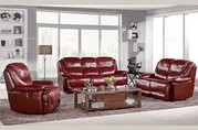 Modern Style Multi-functional Leather Sofa Set
