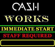 PART/Full Time Staff Required,  Cash Pay.