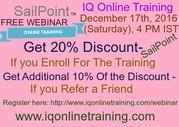 Very interactive & career oriented SailPoint Training FREE WEBINAR