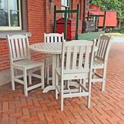 Memorial Day Sale - Outdoor Counter Round Dining Set