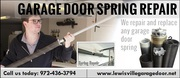 Expert Garage door spring repair - Lewisville,  Dallas