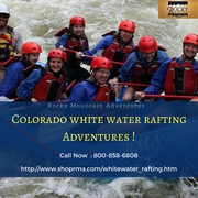 Book Colorado white water rafting trips at Rocky Mountain Adventures