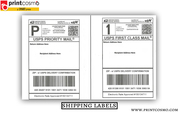 We Customize Wholesale Shipping Labels,  Avail Discounts on All Printin