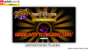 15% Off Advertising Flyers,  With Free Shipping,  High Quality Printing