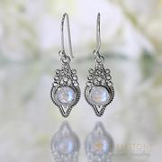 Moonstone Earring-Radiant Angel