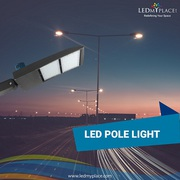 Use Photocell Enabled 300w LED Pole Lights On Streets